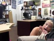 Big boobs solo A handsome platinum-blonde came in begging fo