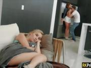 Busty babe Skylar Snow banged by her sister's boyfriend