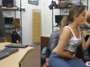 Babe pawning paintball guns and pounded
