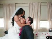 Huge tits bride cheats on her wedding day with the best man