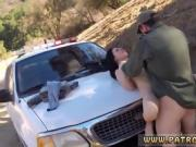 Female cop fucked BP caught her, so she deepthroated the arre