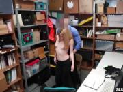 LP Officer feeds the shoplifter Alexa Raye his cock