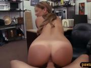 Firm ass babe drilled by nasty pawn man at the pawnshop