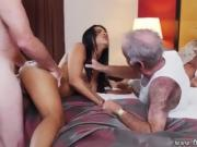Old men licking pussy Staycation with a Latin Hottie