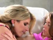 Young Lesbian Intern Plays With Dyke Boss