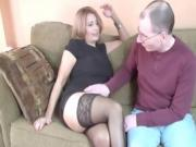 Older Blonde Still Loves To Suck And Fuck Big Dick