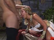 Sexy blonde Brett Rossi
