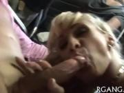 Pal licks wet pussy of cutie before nice blowjob from her