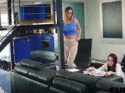 Brooke Haze and Val Dodds in Lesbo Up a Little