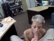 Chinese blowjob Fucking Your Girl In My PawnShop
