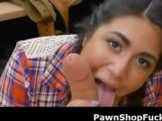 Wicked Hot Lexie Banderas Sucking Dick In Pawn Shop Office