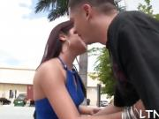 Babe gets wild poundings after sensational blowjob