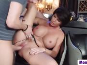 Busty Milf Shay Fox Takes Long Schlong In Cunt