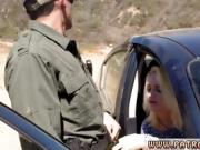 Fake taxi cop revenge and hot police officer Cute blond stunn