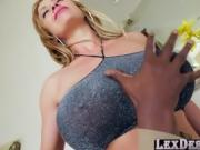 Seductive and busty Eva gets hammered