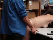 Rebel babe Jade Amber fucked for shoplifting