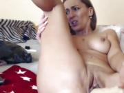 Hot Naughty Milf Makes A Lot Of Cream