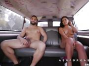 Gabby gets less snobby for a big cock