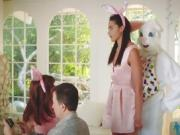 Avi Love fuck by man in bunny costume