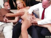 Old eat sperm and men double penetration Frannkie And The Gan