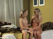Seductive Sixtyniners - lesbian scene with Crystal and Emily