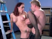 Hot Assistant Chanel Preston Enjoys Big Cock Of Boss