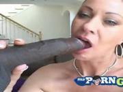 Vanessa Videl wants to taste the black one