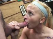 Blonde fucks big black dick Stealing will only get you fucked