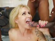Pornstar bombshell gets her butt hole plowed with fat pecker