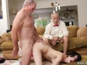 Old lady masturbates squirt She even gets backside screwed un