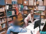 Busted Teen Thief Gets Fucked By Security