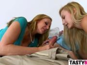 Julia Ann seducing stepdaughter Alexa Grace