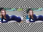 3D SxS Olivia Wilde Hypno