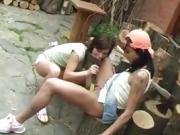 Huge tit mature lesbians hd and teen old Cutting wood