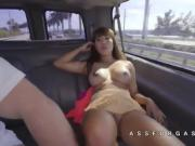 Big tits asian gves a great blowjob