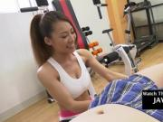 Asian Fitgirl Gets Fucked