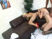 Jenny and Lea share a horny Italian man's hard schlong