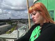 GERMAN SCOUT - REDHEAD TEEN KYLIE GET FUCK AT PUBLIC CASTING