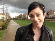 Stephanie jolie brunette essaye la sodomie avec un black