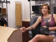 Big breasts tattooed woman nailed hard