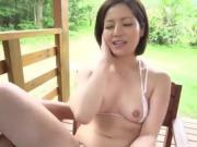 Great outdoor porn scenes along hot wife, Minami