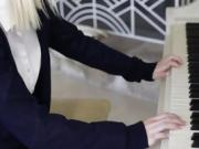 Sammie Daniels enjoyed little fuck lesson during piano