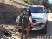 Lesbian cop captured Latina Babe Fucked By the Law