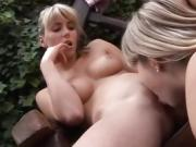 fun lesbian orgy Two blondie youthfull lesbos sweethearts