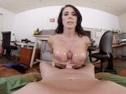 BaDoinkVR Busty MILF Office Boss Reagan Foxx Wants Your Dick