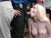 Blonde college dorm Attempted Thieft