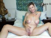 Big breasted blonde MILF