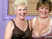 Grannies talk dirty about each other