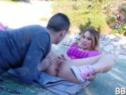Sexy outdoor seduction