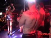 Amateur porn casting on stage by BrunoyMaria at FEDA 2017